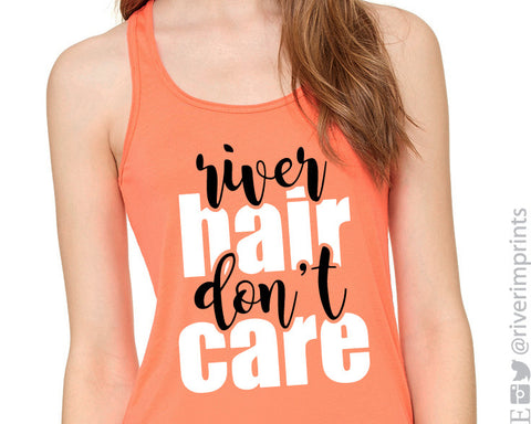 RIVER HAIR DON'T CARE Flowy Tank