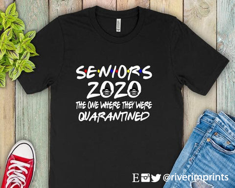 SENIOR 2020 QUARANTINE Blend Tee Shirt