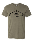 SH*TTER IS FULL Graphic Triblend T-shirt by River Imprints