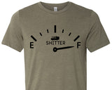 SH*TTER IS FULL Graphic Triblend Tee by River Imprints