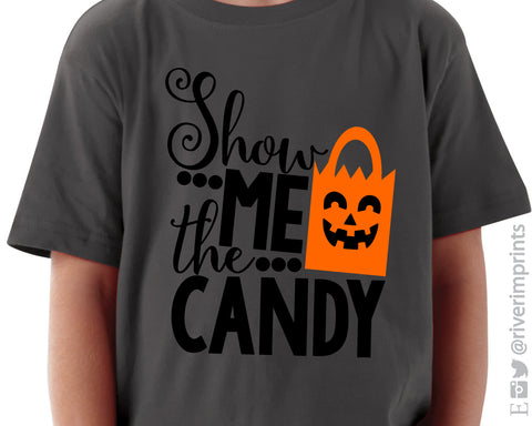 SALE - SHOW ME THE CANDY Toddler Tee Shirt