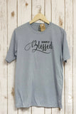 SIMPLY BLESSED Glitter Blend Tee Shirt