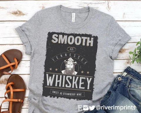 SMOOTH AS TENNESSEE WHISKEY Blend Tee Shirt