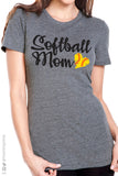 SOFTBALL MOM Triblend Graphic Tee