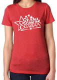 STARS & STRIPES Graphic Triblend T-shirt by River Imprints