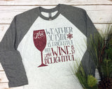THE WEATHER OUTSIDE IS FRIGHTFUL Glittery Triblend Raglan