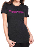 TUPPERWARE Glittery Triblend T-shirt by River Imprints