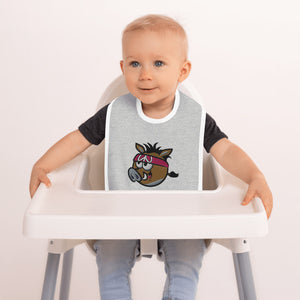 Open image in slideshow, Embroidered Baby Bib