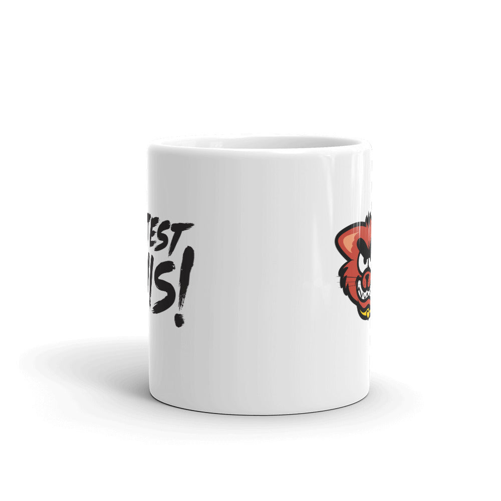 Mug - cat - black logo