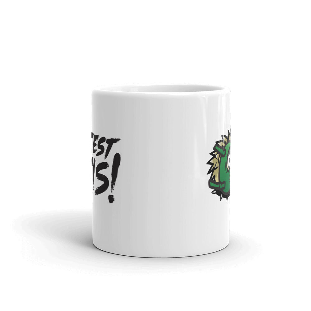 Mug - hedgehog - black logo