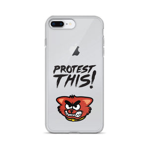 Open image in slideshow, iPhone Case - cat - black font