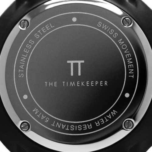 Black / Black / Tan Leather - The Timekeeper