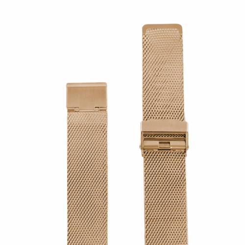 Rose Gold Mesh - The Timekeeper