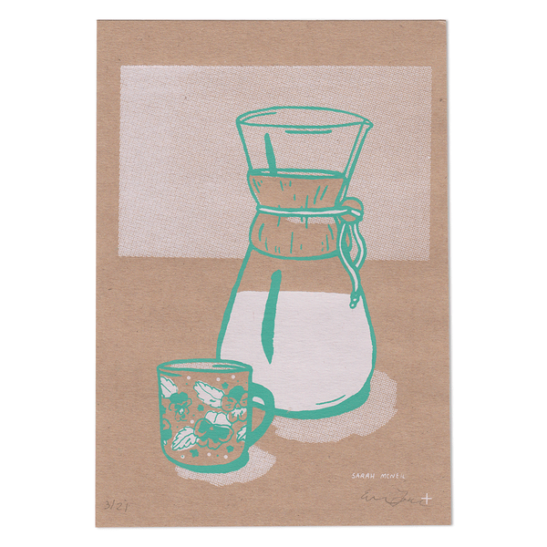 Chemex Coffee Screen Print