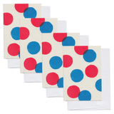 Set of Four Circles Cards