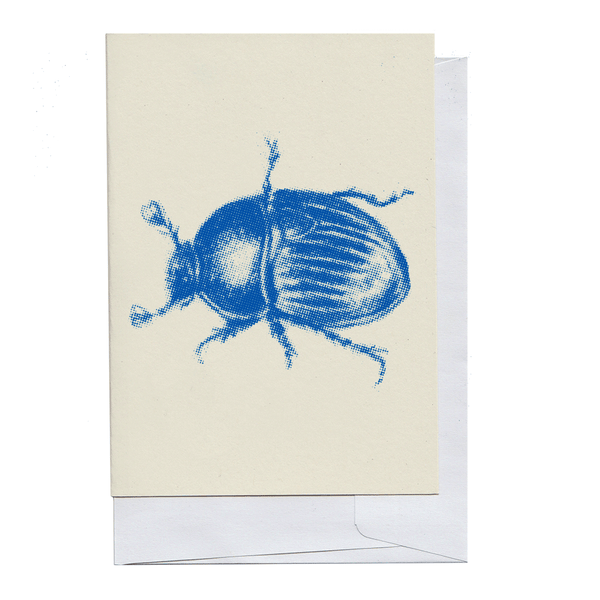 Blue Beetle Card