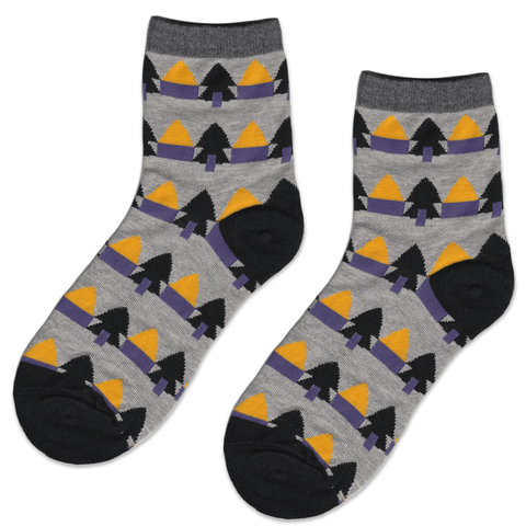 Scary Colours House Socks