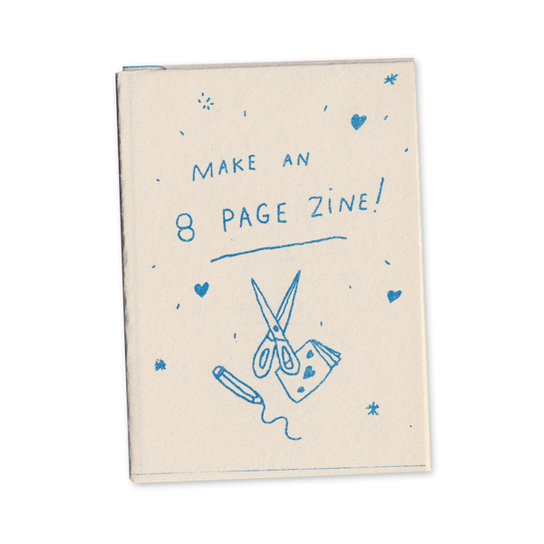 Make an 8 page zine! mini zine (2016 edition)