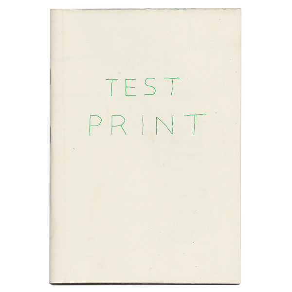 ON SALE: Test Print