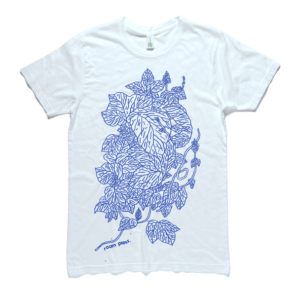 White Leaf Structure shirt