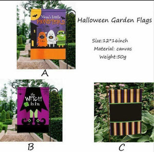Halloween Garden Flags *In Stock*