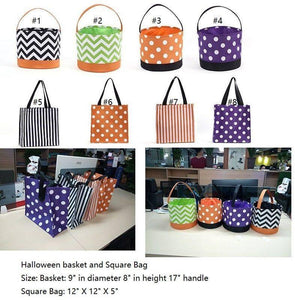 Halloween Buckets/Bags In Stock