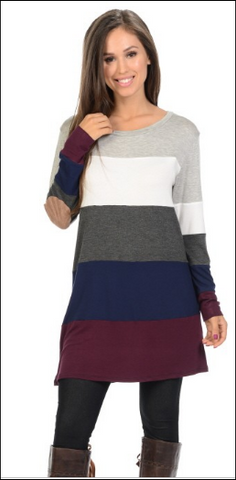 Colorblock Tunic *In Stock*