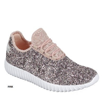 Kid's Glitter Sneakers *Arriving Soon* (Different Colors)