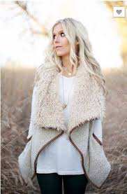 Faux Fur Vest In Stock