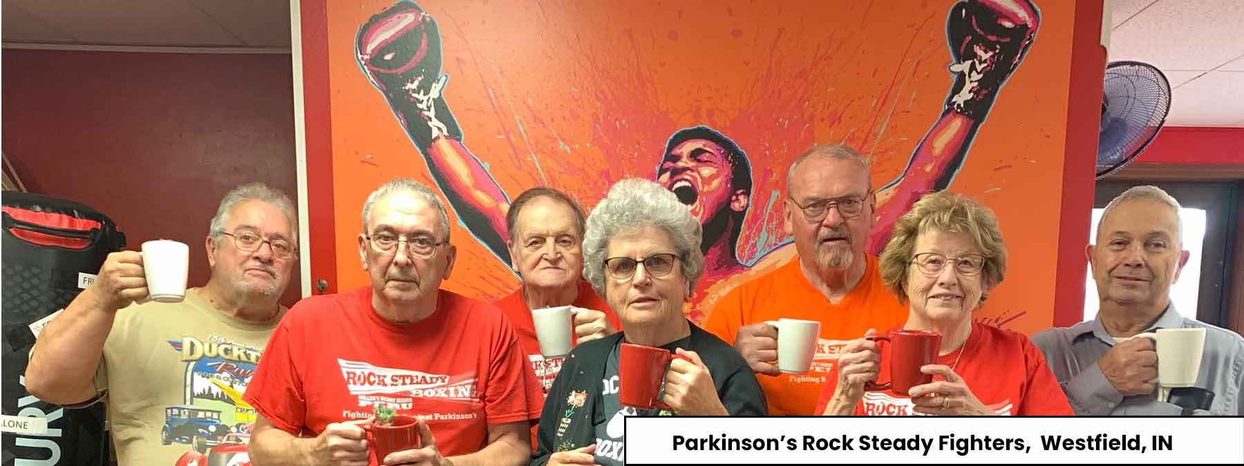 Best Cup for Parkinson's | Parkinson's Rock Steady Fighters
