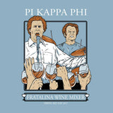 Pi Kappa Phi Fratalina Bid Day Long Sleeve T - Ice Blue