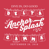 Delta Gamma Anchor Splash Tee