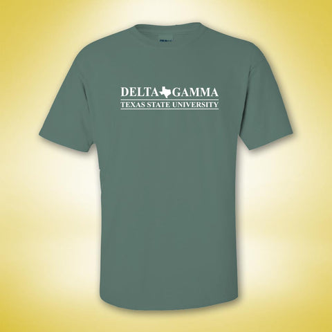 Delta Gamma Classic Be A DG Tee - Light Green