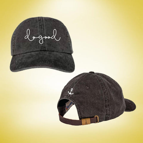 Delta Gamma Do Good Cap - Black