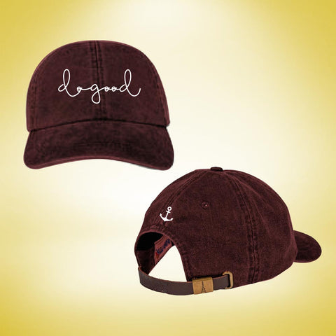 Delta Gamma Do Good Cap - Burgundy