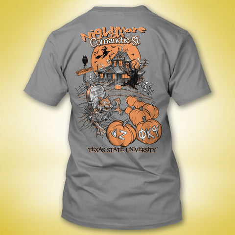 Phi Kappa Psi 'Nightmare on Comanche' Tee