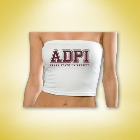 Alpha Delta Pi Summer Tube Top