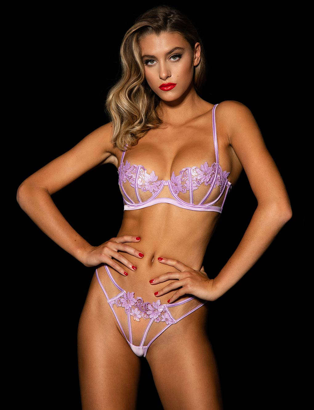 Amelie Lilac Brief