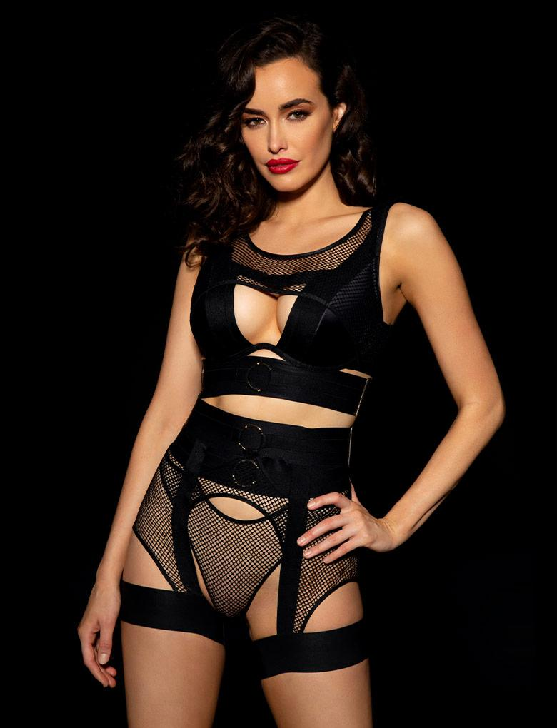 Axl 3 Piece Set - Shop Lingerie Set | Honey Birdette UK