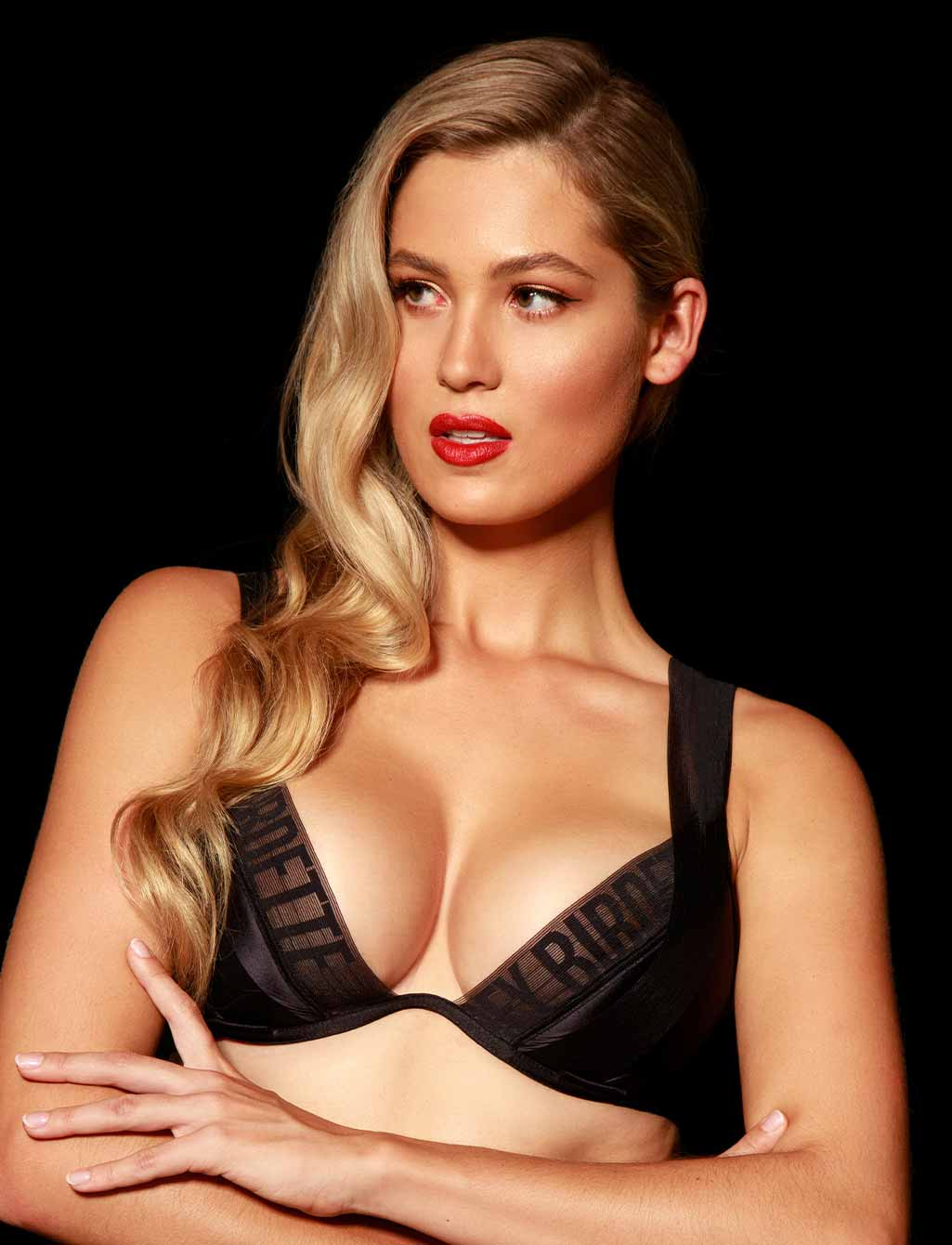 Blake Black Push Up Bra - Shop Lingerie | Honey Birdette
