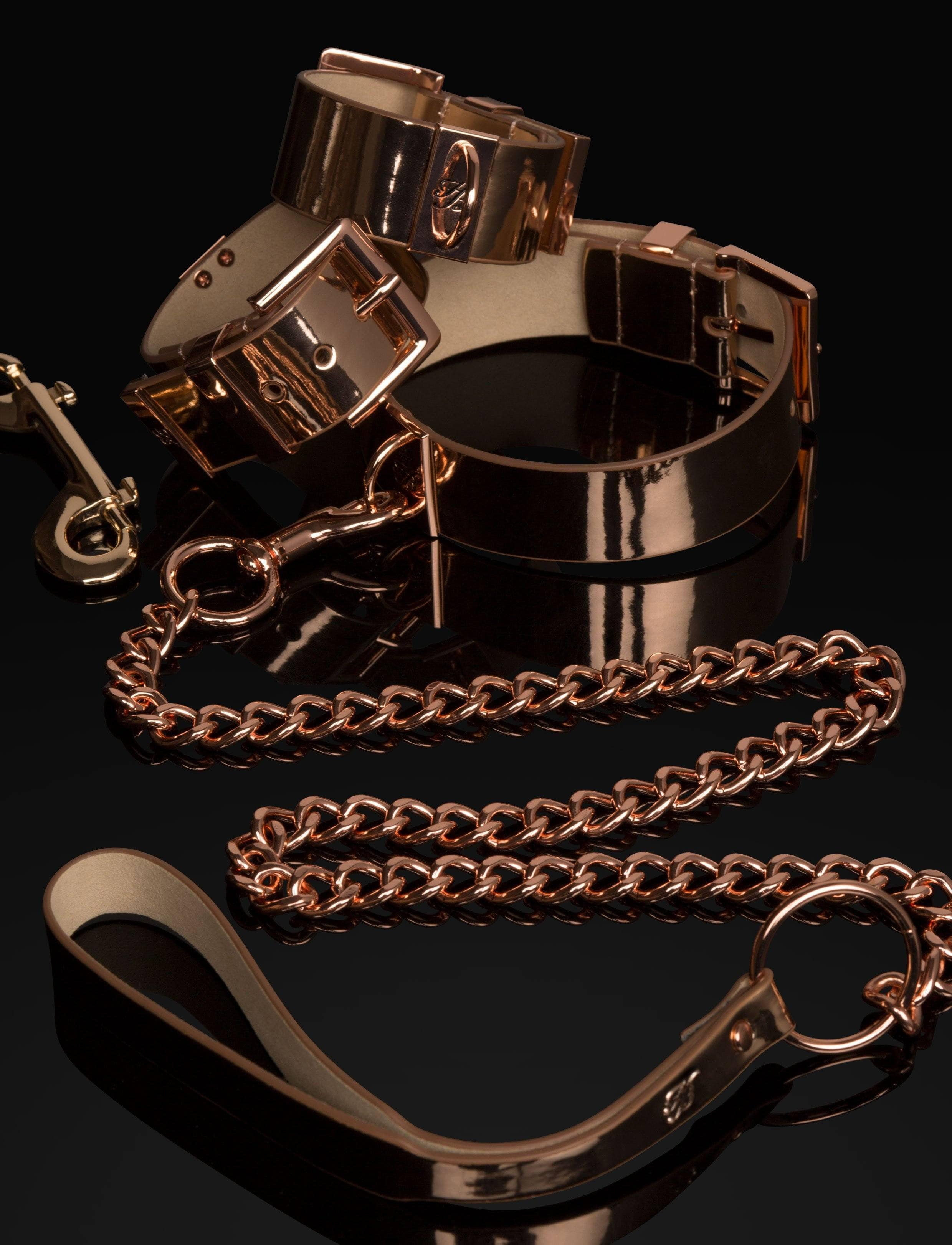 Rose Gold Bondage Kit - Shop Fashion Fetish | Honey Birdette UK
