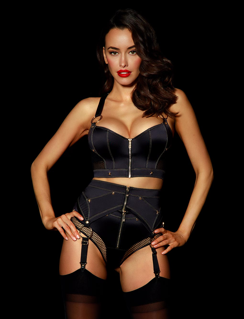Bronnie Suspender Set