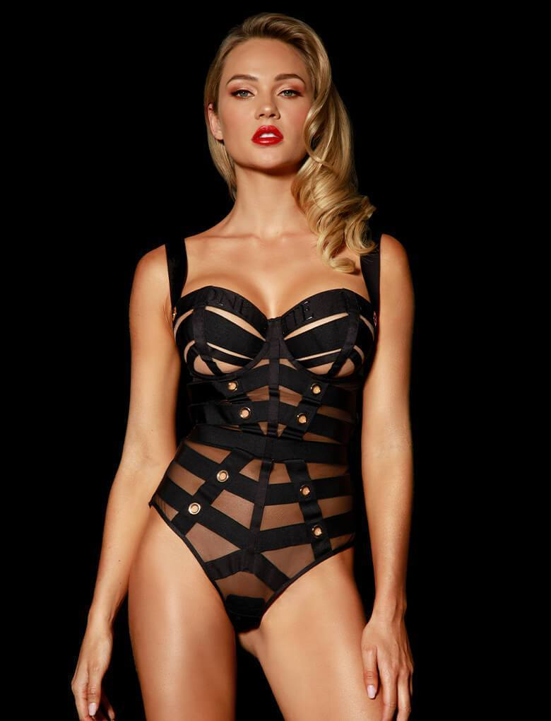 Cage Bodysuit - Shop Bodysuit | Honey Birdette UK