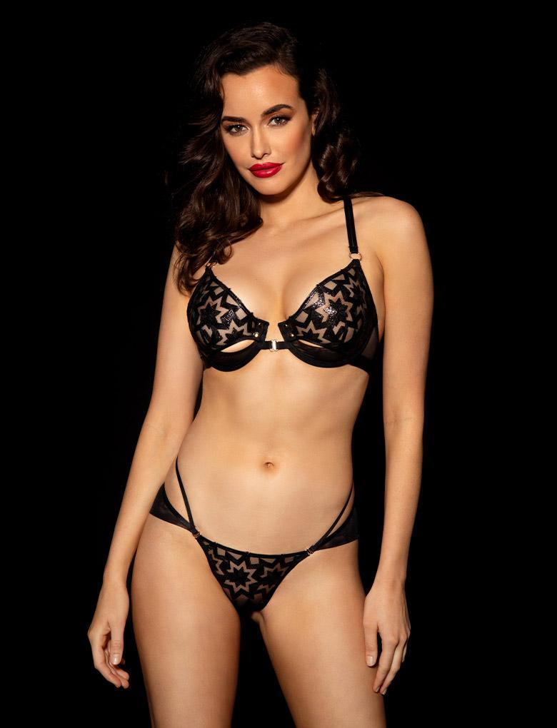 Freddie Bra & Bottom Set - Shop Lingerie Set | Honey Birdette UK