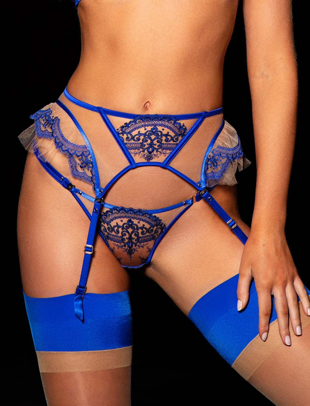 Gabrielle Blue 3 Piece Set