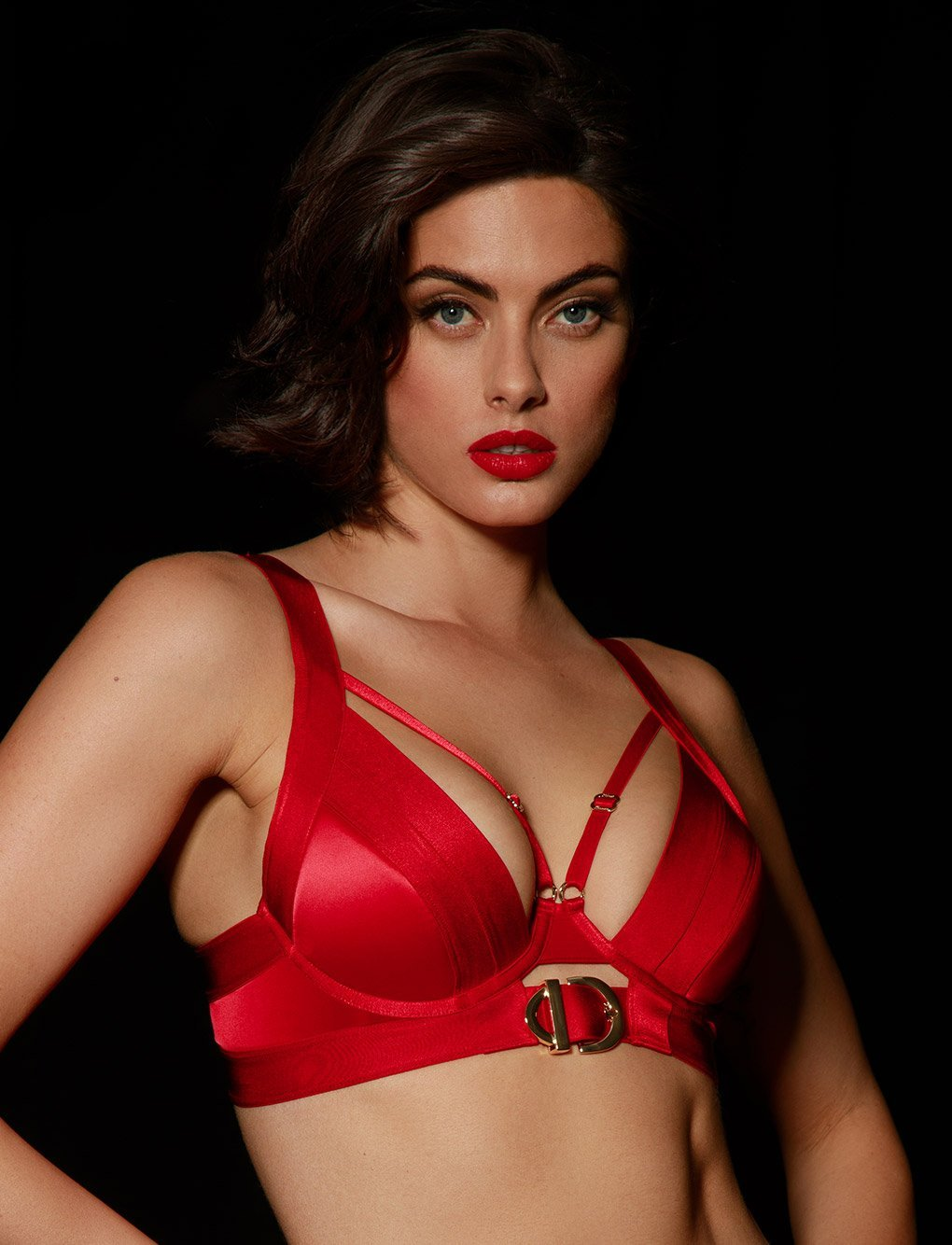 Gia Red Push Up Bra | Shop Bras | Honey Birdette