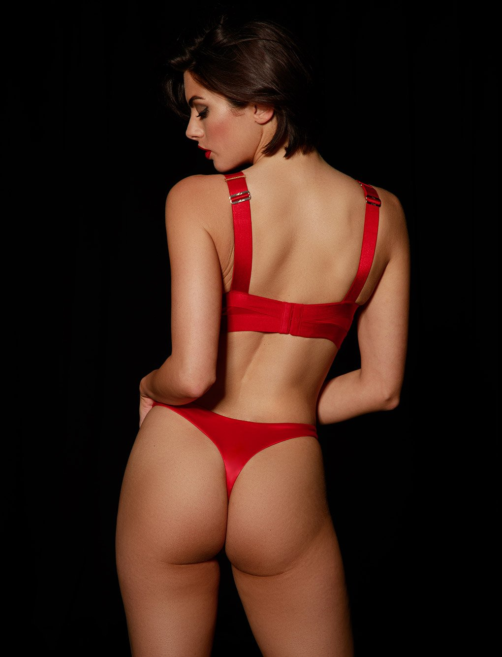 Gia Red Thong | Shop Thongs & G Strings | Honey Birdette