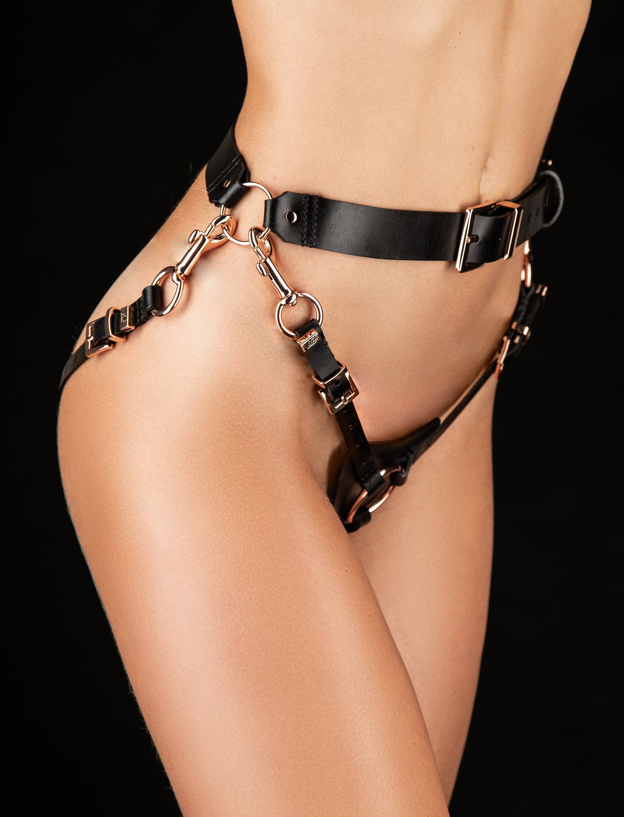 Leather Strap on - Shop Toys | Honey Birdette UK