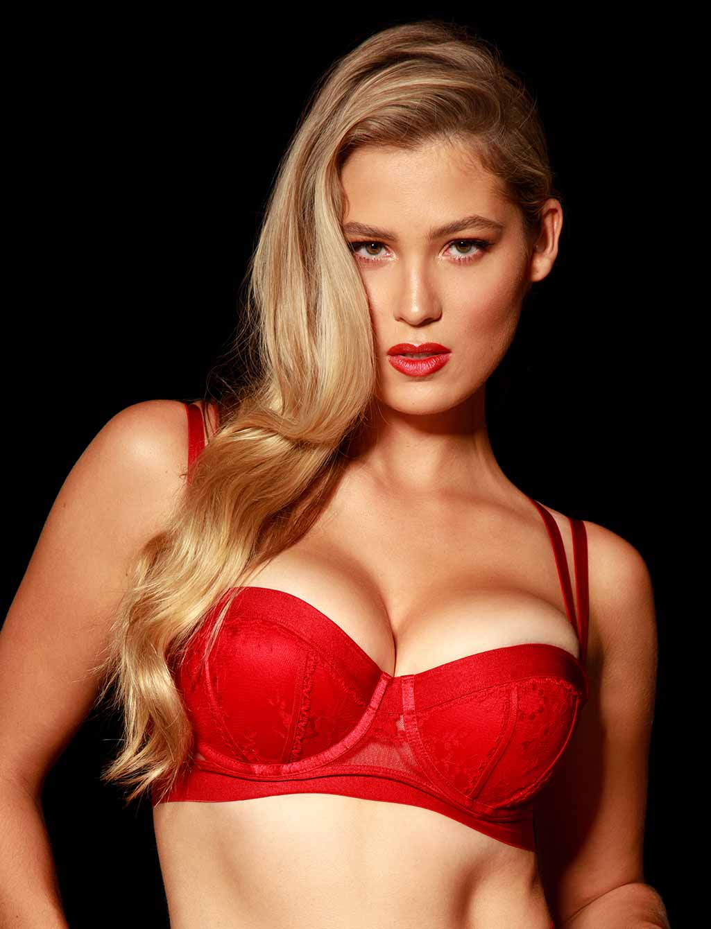 Lucille Red Bra