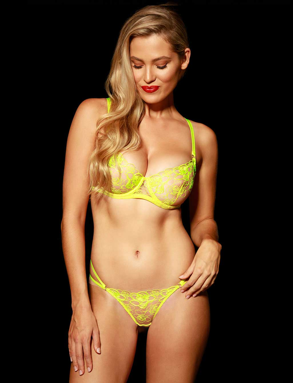 Lyndl Neon Lingerie Set | Shop  Lingerie Honey Birdette
